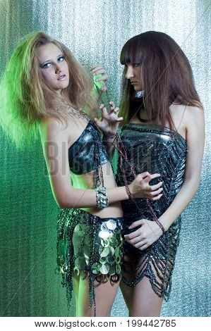 Girls With Metal Fetters