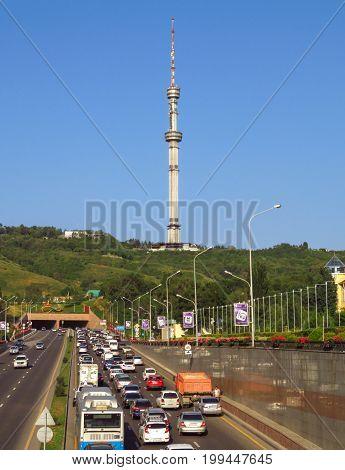 Almaty - Telecommunication Tower