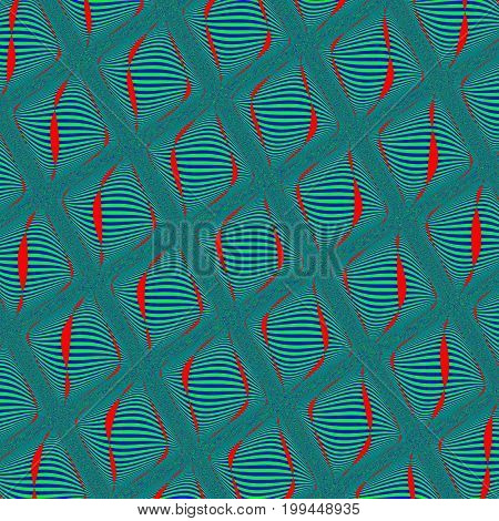 Green seamless pattern. Illustration design. Geometric pattern. Green background. Green texture. Phosphorous seamless pattern. Phosphorous background. Phosphorous texture. Red seamless pattern. Red background. Red texture