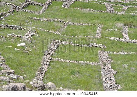 Ruins Of Hattusa. Capital City Of Hittite Empire.