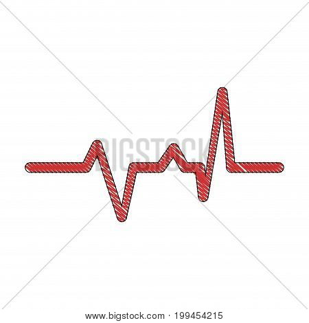 Heart and cardiology icon vector illustration graphic design