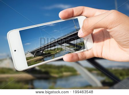 Photography Of Landmarks On A Smartphone