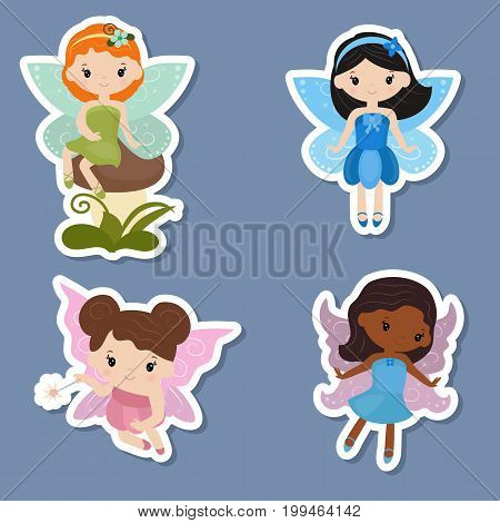 Collection Of Beautiful Fairy Stickers