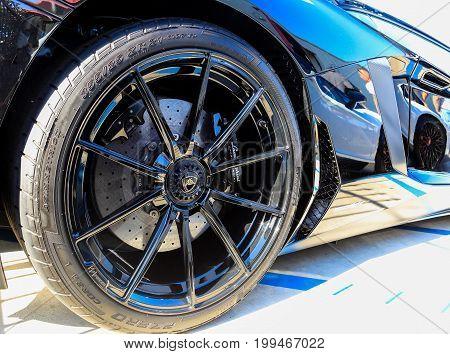 Santa Mesa, Ca - June 17, 2017: Evan Paul Motorcars Summer Bash: Open House