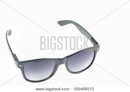 Glasses On The White Isolate Background , Money And Coin Watch Pass The Glasses