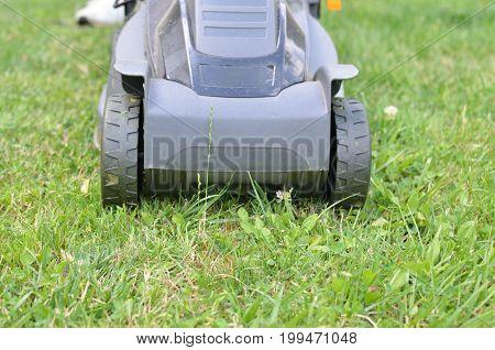 Lawn Mower Front Side