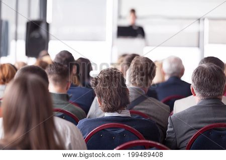 Business conference and presentation or professional training