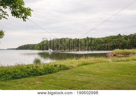 A Lake Near Panmure Island On Pei
