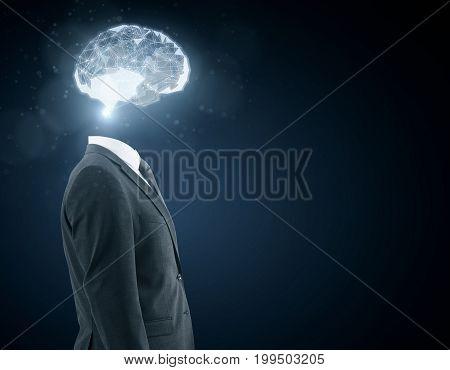 Artificial Mind Concept