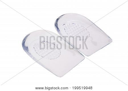 Gel Insert, Insole Under The Heel In Shoes For Comfortable Walking
