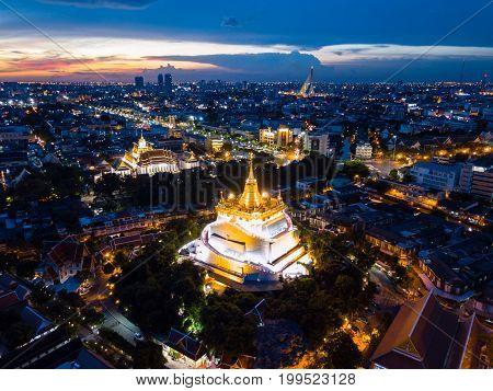 Wat Saket in Bangkok - Temple of the Golden Mount