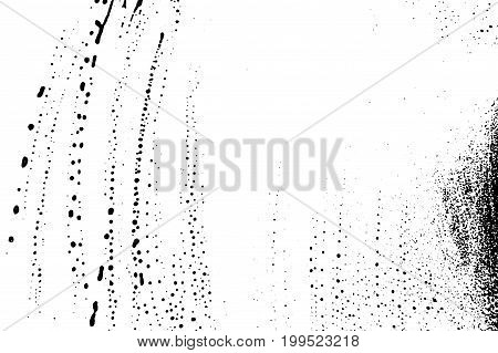 Grunge Soap Texture Invert. Distress Black And White Rough Foam Trace Brilliant Background. Noise Di