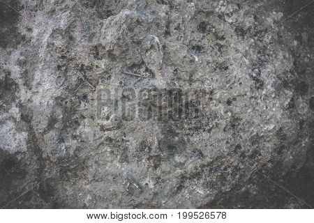Rock Stone Natural Background. Rock Detail Pattern. Bali Island, Indonesia.