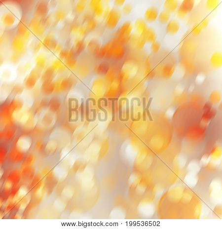 Abstract art multicoloured background with blur bokeh for design