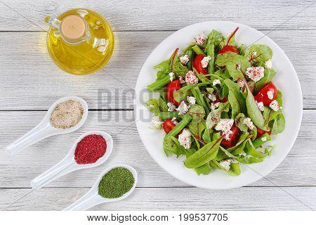 Delicious Healthy Low Calories Vegetarian Salad