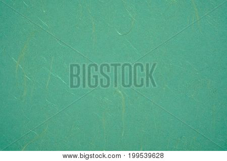 Texture Of Green Color A Brushed Paper Sheet For Blank And Pure Background
