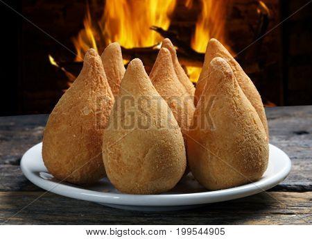 Coxinha, Brazilian Fried Chicken Snack