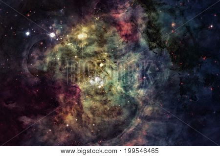 Galaxy In Universe. Elements Of This Image Furnished By Nasa