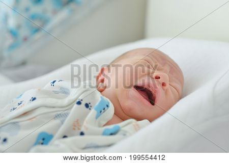 Crying Newborn Baby
