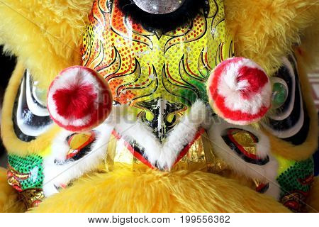 Chinese Dancing Lion Head