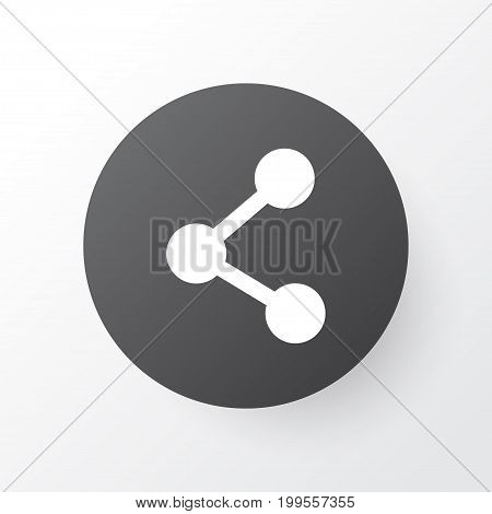 Premium Quality Isolated Publish Element In Trendy Style.  Share Icon Symbol.