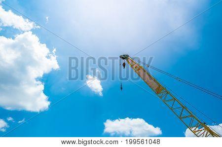 Mobile Construction Crane.