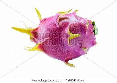 Dragon fruit on isolated background.Fruit for health.