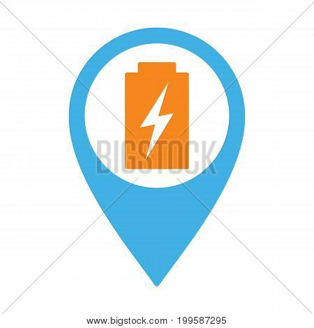 Charging Point Pin Icon