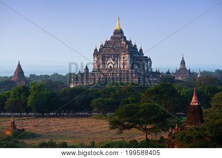 Thatbyinnyu Temple In Bagan Archaeological Zone, Myanmar