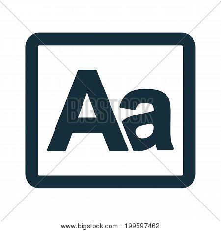 Grammar Letter Alphabet Icon