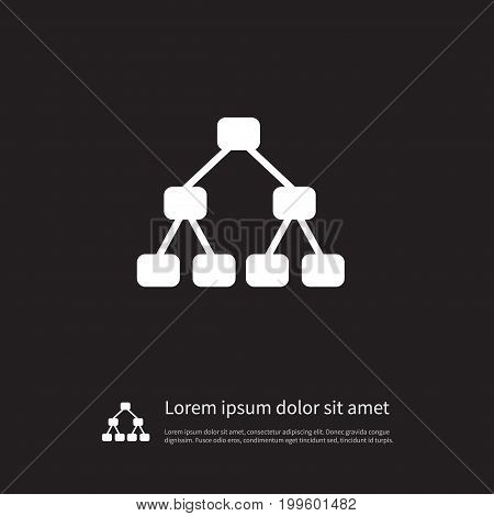 Team Vector Element Can Be Used For Hierarchy, Structure, Team Design Concept.  Isolated Hierarchy Icon.