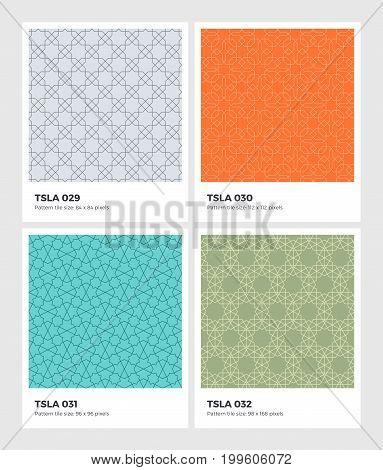 Tessellation Geometry Pattern Set 08