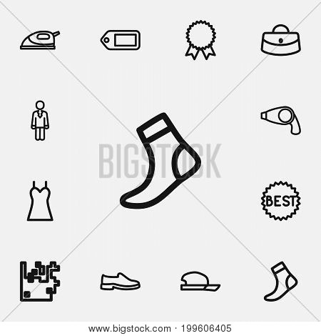 Set Of 12 Editable Trade Outline Icons. Includes Symbols Such As Ironing, Reward, Arrow Up And More