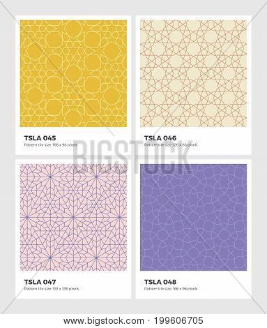Tessellation-seamless-pattern-geometry-background-vector-texture-12
