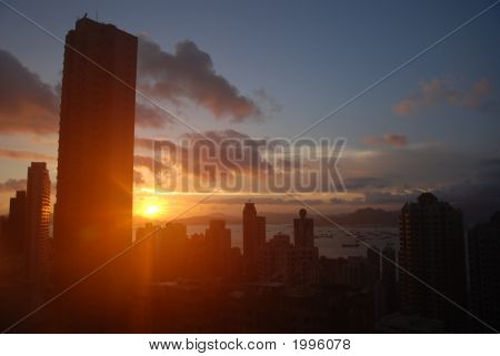 Hong Kong Sunset