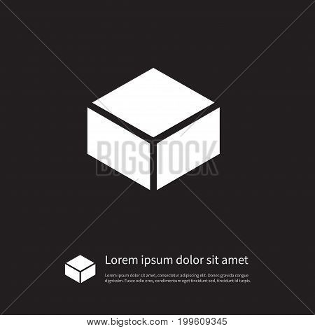 Package Vector Element Can Be Used For Package, Carton, Parcel Design Concept.  Isolated Parcel Icon.