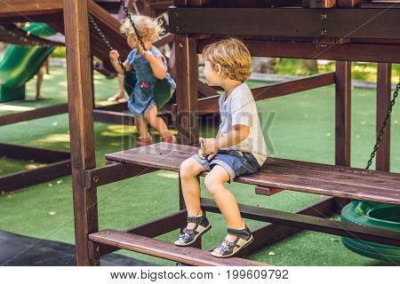 Conflict On The Playground, Resentment, Boy And Girl Quarrel