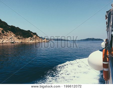 Extraordinary Landscape Of Mountain The Blue Sea Water