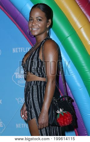 LOS ANGELES - AUG 10:  Christina Milian at the True and the Rainbow Kingdom Series LA Premiere at the Pacific Theater At The Grove on August 10, 2017 in Los Angeles, CA