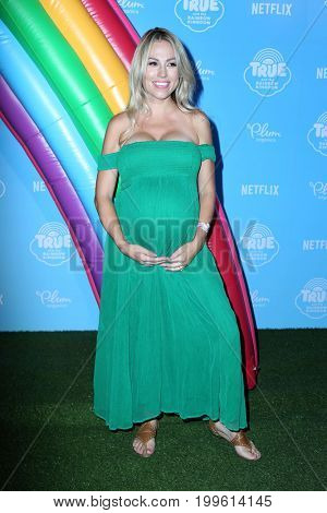 LOS ANGELES - AUG 10:  Jessica Hall at the True and the Rainbow Kingdom Series LA Premiere at the Pacific Theater At The Grove on August 10, 2017 in Los Angeles, CA