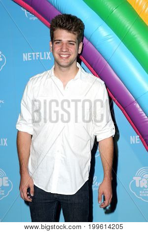 LOS ANGELES - AUG 10:  Brandon Tyler Russell at the True and the Rainbow Kingdom Series LA Premiere at the Pacific Theater At The Grove on August 10, 2017 in Los Angeles, CA