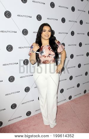 LOS ANGELES - AUG 12:  Mayra Garcia at the 5th Annual Beautycon Festival Los Angeles at the Los Angeles Convention Center on August 12, 2017 in Los Angeles, CA