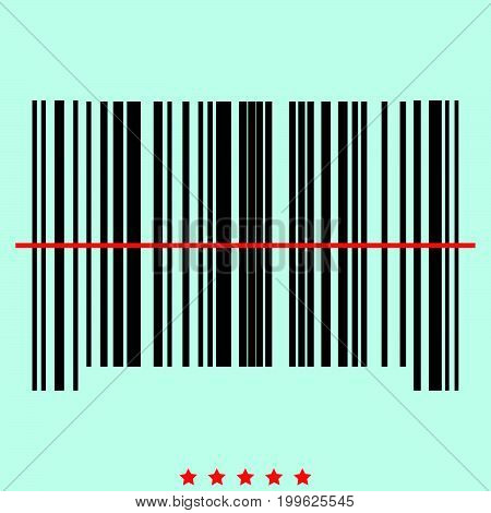 The Barcode  It Is Color Icon .