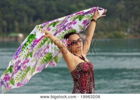 Asian Woman Holidays