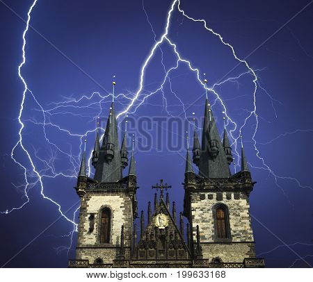 Prague Is The City And Capital Of The Czech Republic
