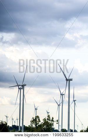 Wind turbine Wind generator Wind power unit Wind energy converter