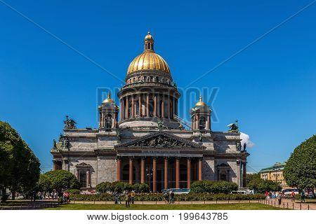 St. IsSt. Isaac's Cathedral, St. Isaac's Square, St. Petersburg