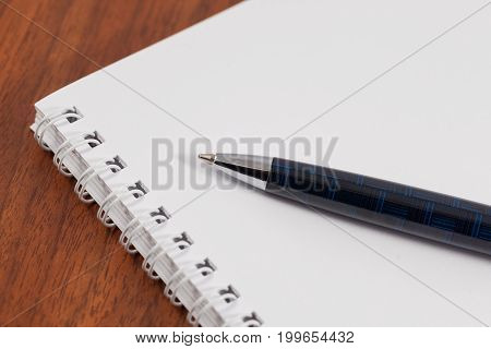 Ball Pen And Notebook For Notes, Business