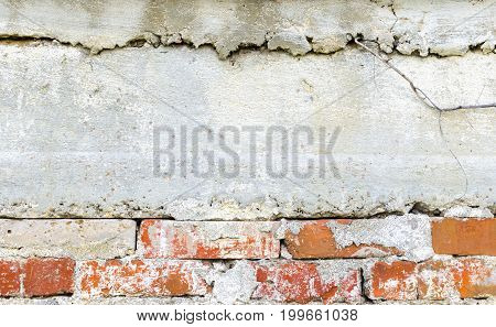 Background of concrete and masonry walls slabs and plaster
