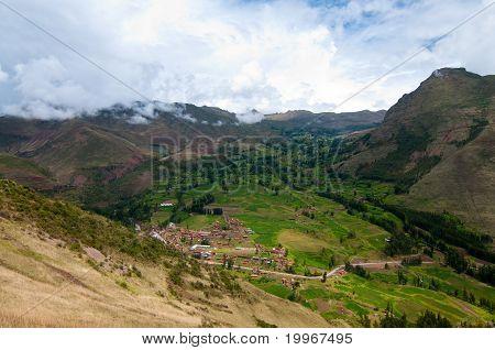 Mountain view, Pisac Peru